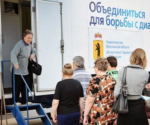 Мобильный диабет-центр для своевременной диагностики диабета